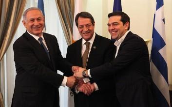 Νέα τριμερής Ελλάδας-Κύπρου-Ισραήλ στις 8 Μαΐου