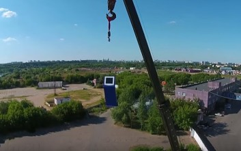 Τι θα συμβεί σε ένα ΑΤΜ αν πέσει από 30 μέτρα