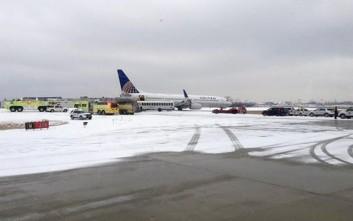 «Πάγωσαν» όλες οι πτήσεις της United Airlines στην Ουάσινγκτον
