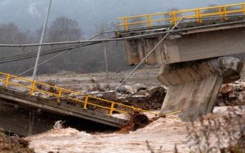 Κινητοποιήσεις κατοίκων για την γέφυρα που έπεσε στην Καλαμπάκα