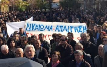Δυναμική διαμαρτυρία για τα νοσοκομεία Αιτωλοακαρνανίας