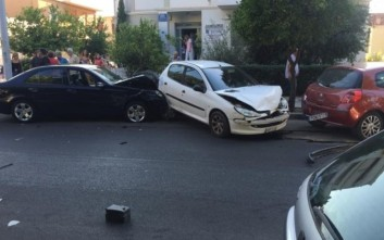 Πρώτη μέρα του έτους με καραμπόλα οχημάτων στην Πάτρα