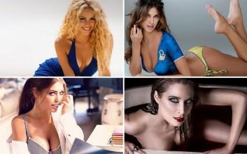 Οκτώ γυναίκες των ποδοσφαιριστών που τρελαίνουν τις κερκίδες