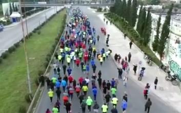 Εκατοντάδες δρομείς στο Attica Bank 3o Run&Fun Grand Prix