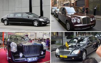 Τα 10 πιο ακριβά κρατικά αυτοκίνητα του κόσμου