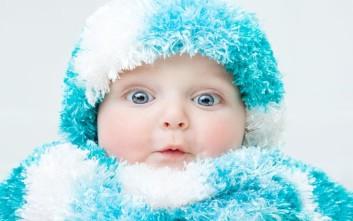 Tips για να μην κρυώνει το μωρό το χειμώνα