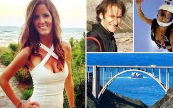 Διπλή βουτιά θανάτου από γέφυρα της Καλιφόρνια