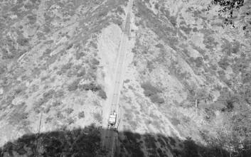 Το βαγόνι που «σκαρφάλωνε» στα βουνά της Καλιφόρνια