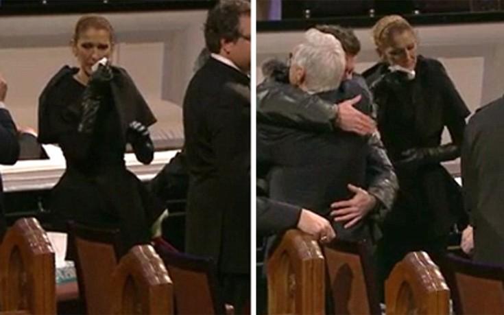 Συντετριμμένη η Celine Dion, κηδεύεται σήμερα ο σύζυγός της