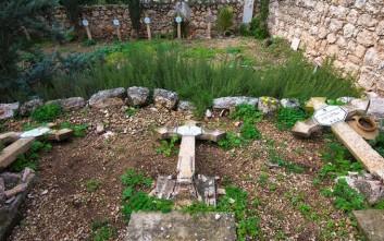 Βανδάλισαν χριστιανικούς τάφους σε μοναστήρι της Ιερουσαλήμ