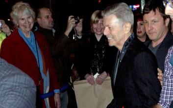 Η τελευταία φωτογραφία του David Bowie