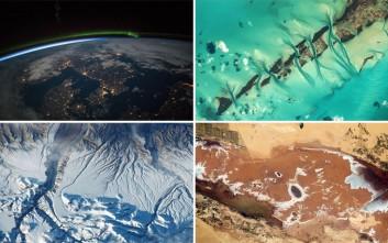 Εκπληκτικές εικόνες της Γης από τον Διεθνή Διαστημικό Σταθμό
