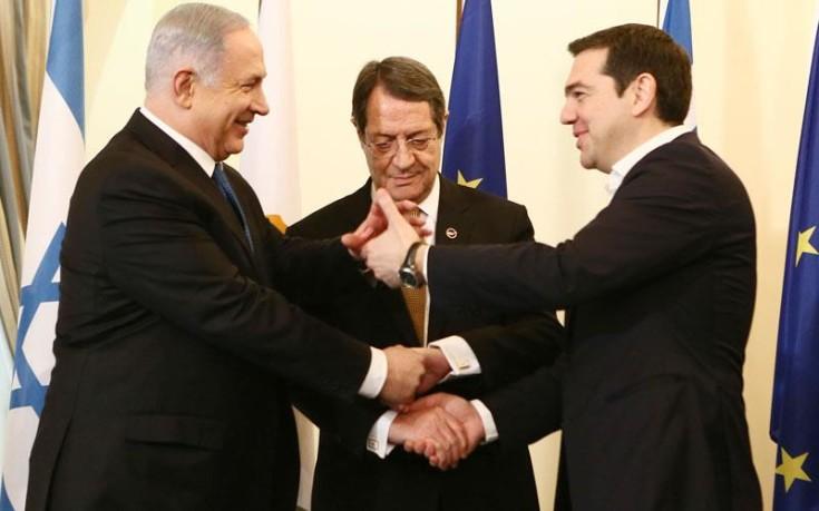 Τσίπρας: Ιστορική η Σύνοδος Αθήνας, Κύπρου, Ισραήλ