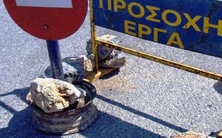 Εργασίες στην εσωτερική περιφερειακή Θεσσαλονίκης