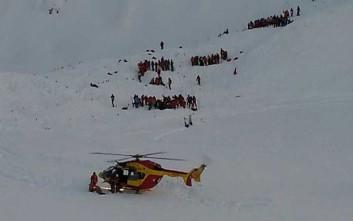 Ένας νεκρός και αγνοούμενοι σε χιονοστιβάδα στην Γαλλία