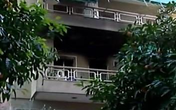 Νεκρός σε πυρκαγιά σε διαμέρισμα στου Ζωγράφου