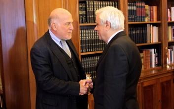 Συνάντηση Παυλόπουλου με Βερνίκο και μέλη του Ο.Κ.Ε.