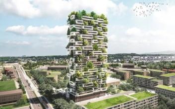 Ένα «κάθετο δάσος» θα υψωθεί στη Λωζάνη