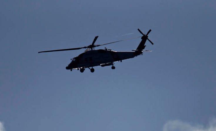 Τραγωδία στο Αιγαίο με συντριβή ελικοπτέρου και αγωνία για τρεις Αξιωματικούς