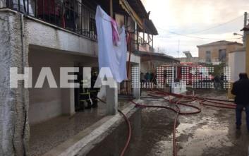 Νεκρός 83χρονος από φωτιά στο σπίτι του