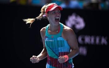 H Κέρμπερ νίκησε την Σερένα στο Αυστραλιανό Open