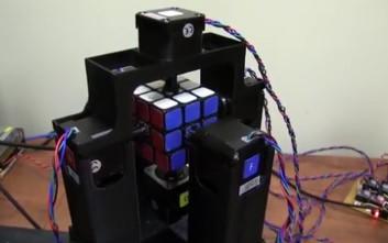 Το ρομπότ που λύνει τον Κύβο του Ρούμπικ σε 1 δευτερόλεπτο