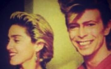 Η Μαντόνα αποχαιρετά τον David Bowie
