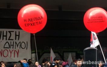 Φοιτητές-σπουδαστές διαμαρτύρονται για το ασφαλιστικό