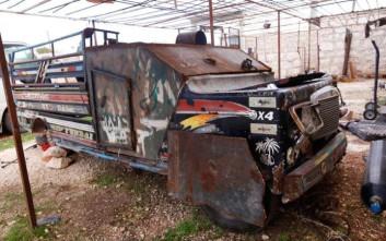 Τα πολεμικά οχήματα στη Μέση Ανατολή