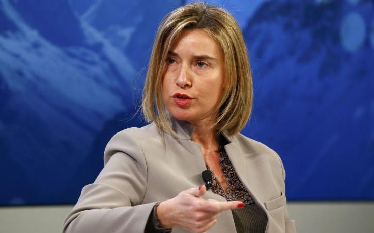 Μογκερίνι: Η ΕΕ θα ήθελε να επιστρέψει στις σχέσεις στρατηγικής συνεργασίας με την Ρωσία