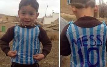 Βρέθηκε το αγόρι με τη φανέλα του Μέσι φτιαγμένη από σακούλα