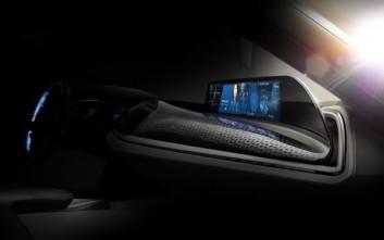 Οθόνη αφής χωρίς επαφή από τη BMW