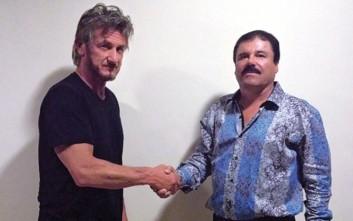 Μυστική συνέντευξη του Σον Πεν με τον Μεξικανό βαρόνο Ελ Τσάπο οδήγησε στην σύλληψή του