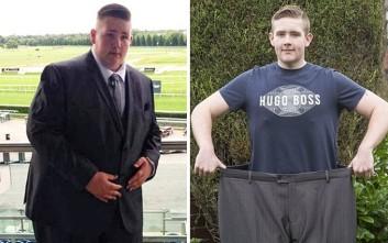 Ο παχύσαρκος νεαρός που θα πέθαινε πριν τα 30 θέλει να κάνει καριέρα στο body building