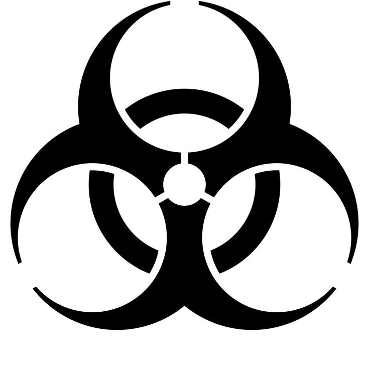 bb50726622 Το γνωστό σύμβολο που προειδοποιεί για βιολογικές ουσίες που αποτελούν  απειλή για την υγεία ζωντανών οργανισμών