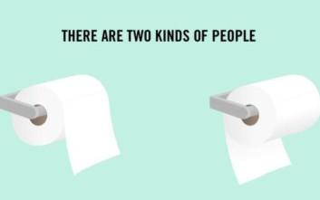 Τι αποκαλύπτει για τον χαρακτήρα σας ο τρόπος που κρεμάτε το χαρτί υγείας