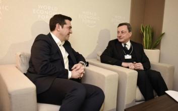Συμφωνία Τσίπρα-Ντράγκι για άμεση ολοκλήρωση της αξιολόγησης