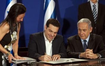 Η ενέργεια «προίκα» στη συμμαχία Ελλάδας - Ισραήλ