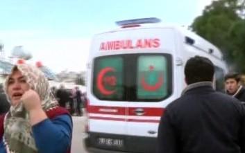 Κατέρρευσαν δύο κτίρια στην Κωνσταντινούπολη