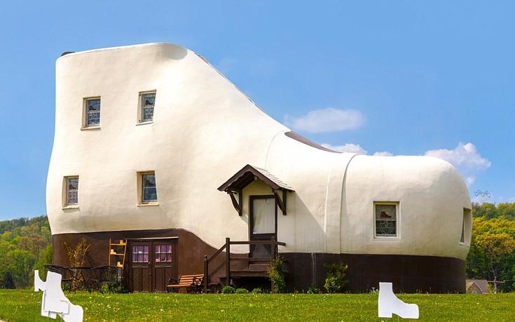 Κατασκευάστηκε από τον πωλητή Mahlon Haines το 1948. Έχει ύψος 7,5 μέτρα, πέντε ορόφους και είναι ανοιχτό για επισκέψεις του κοινού.