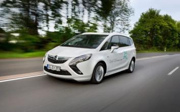 Το Zafira Opel προσέχει το περιβάλλον