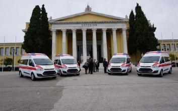 Δωρεά πέντε ασθενοφόρων από τη Γερμανία στην Ελλάδα