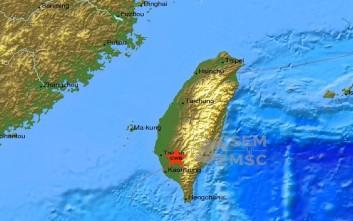 Ισχυρός σεισμός 6,7 ρίχτερ έπληξε την Ταϊβάν