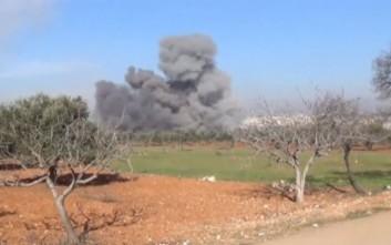 Μαχητικό συνετρίβη σε περιοχή κοντά στο Χαλέπι
