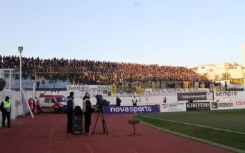 Ένταση στο Περιστέρι μεταξύ οπαδών της ΑΕΚ και του Ατρομήτου