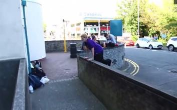 Οι αποτυχίες στο παρκούρ πονάνε