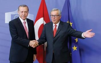 Οι ωμές απειλές του Ερντογάν και οι προσβολές σε Γιούνκερ και Τουσκ