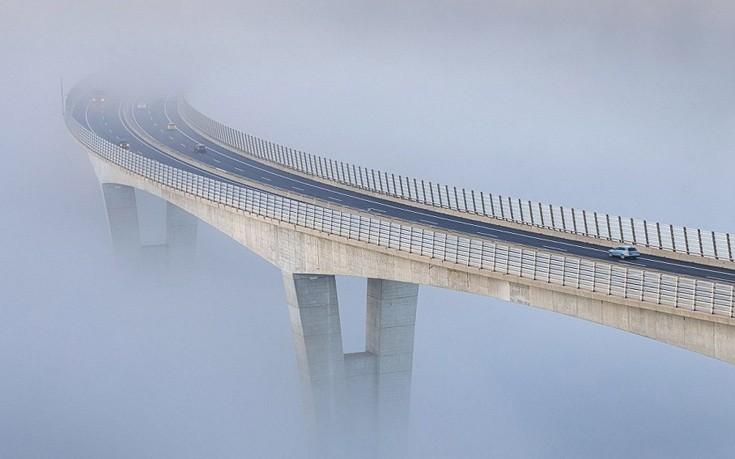 Γέφυρα που… πετάει στα σύννεφα