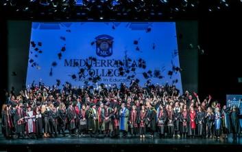 Μεγαλειώδης η 36η Τελετή Αποφοίτησης του Mediterranean College