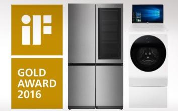 Η LG μεγάλη νικήτρια στο iF Design 2016